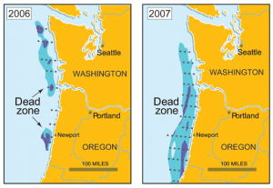 Pacific Coast Dead Zones