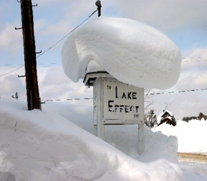 National: Lake-Effect Snow: Areas in New York state east of Lake Ontario received over 10 feet of lake-effect snow during a 10-day period in early February 2007.