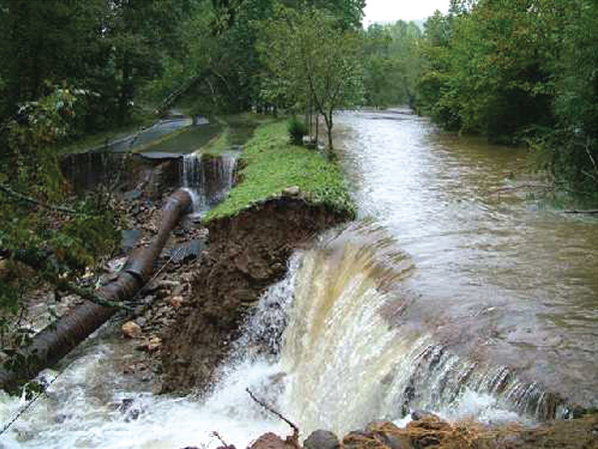 Asheville, NC's Damage to City Water System